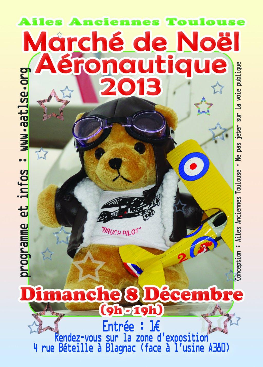 Marché de Noël Aéro, troisième édition