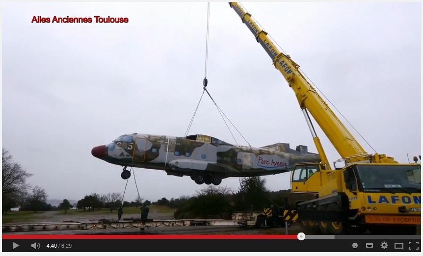 Les vidéos du chargement et déchargement du Breguet 941 S