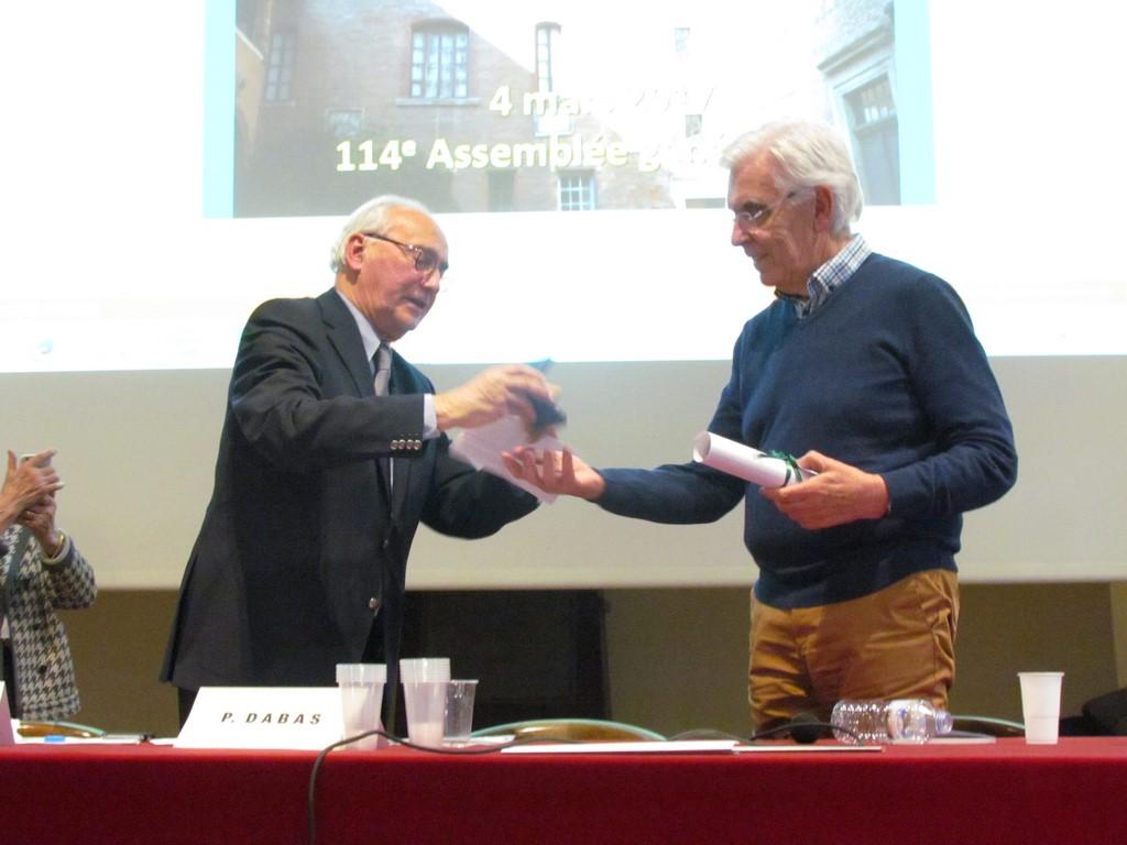 Remise de la Médaille du Vieux-Toulouse 2017