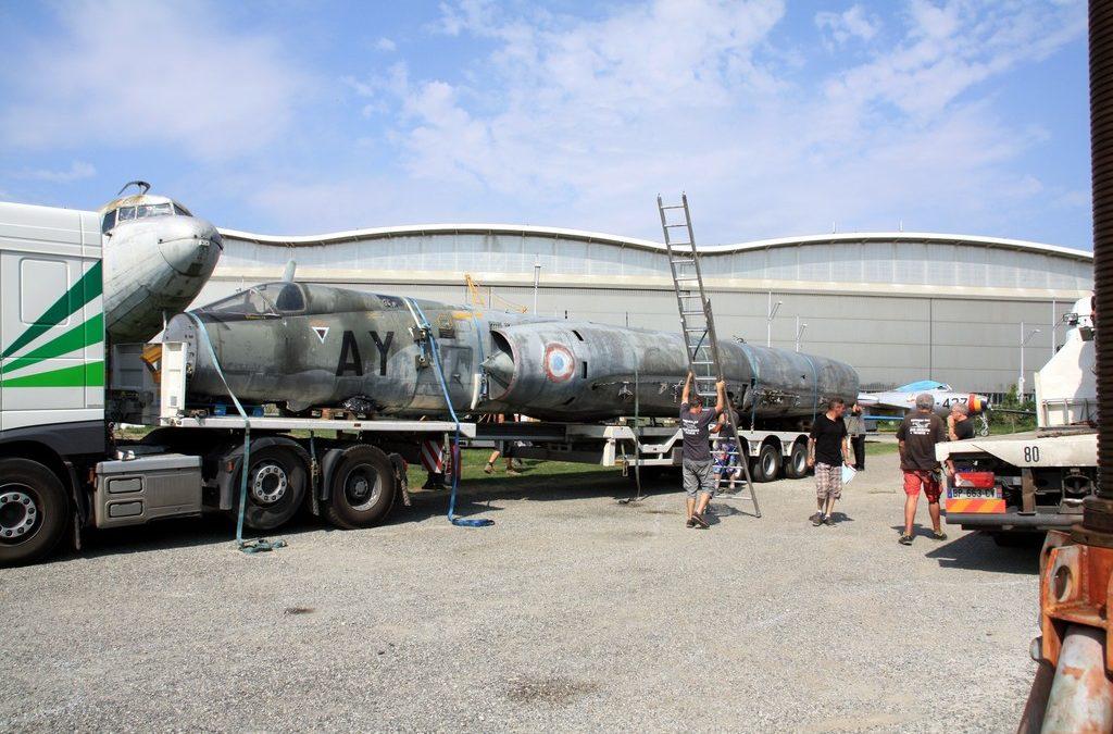 Arrivée du Mirage IVP