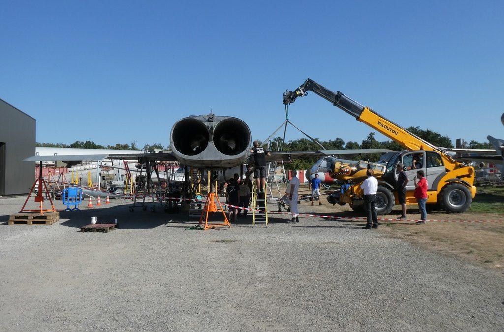 Remontage du Mirage IV P