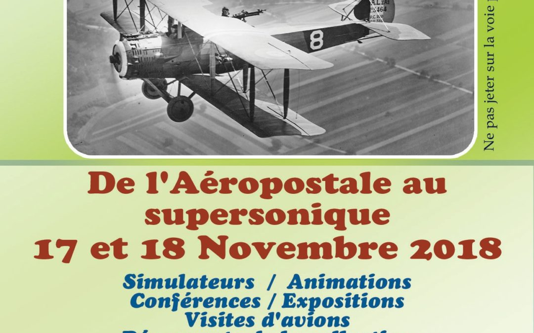 De l'Aéropostale au supersonique