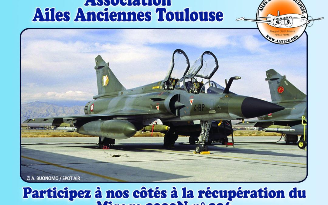 Un nouvel appareil va bientôt rejoindre la collection : un Mirage 2000N !