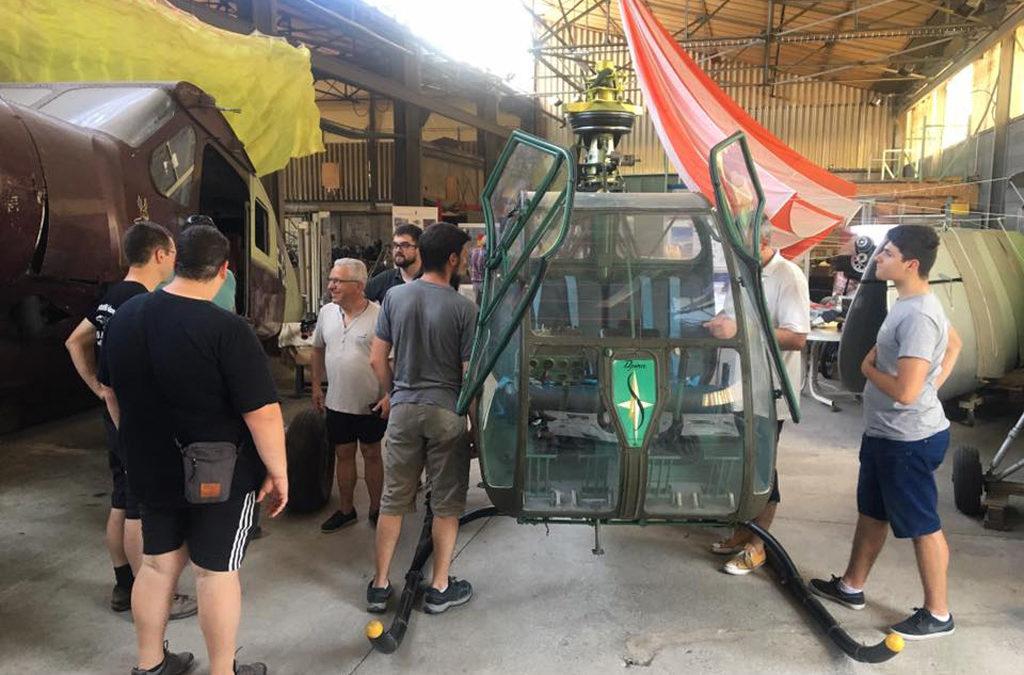 L'association fait don d'un réservoir de Djinn aux Ailes Limousines