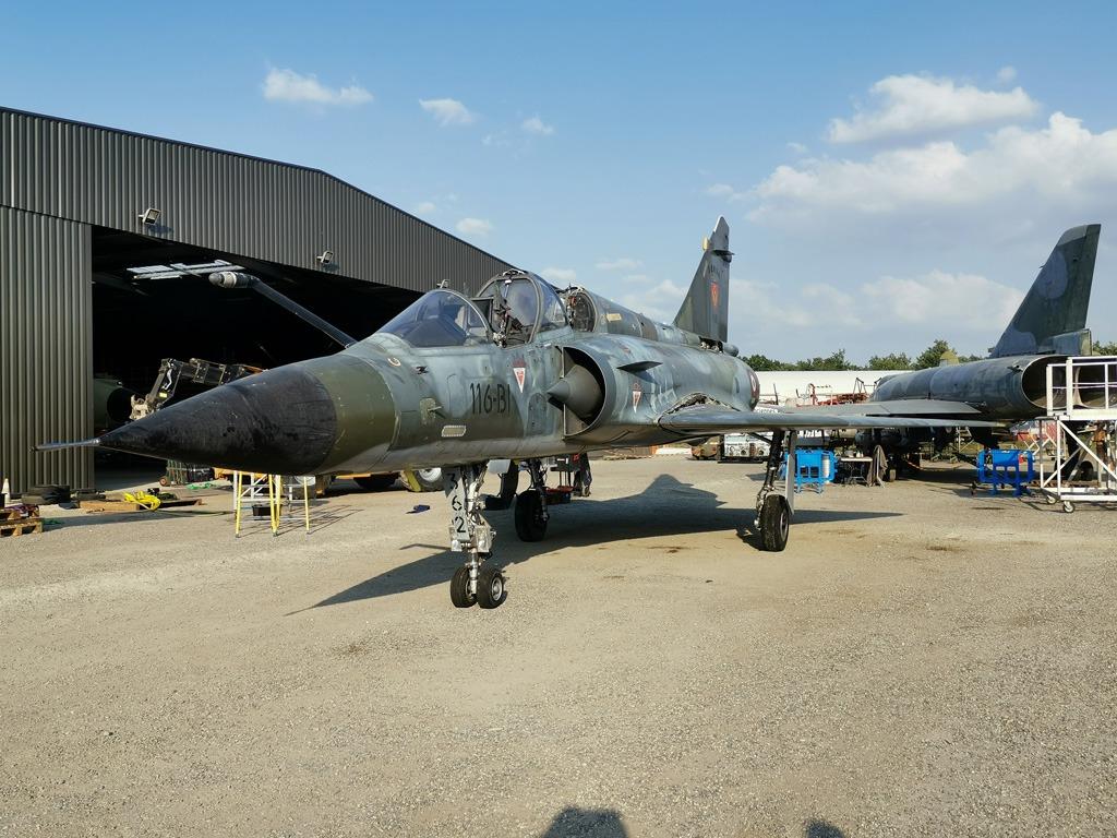 Démontage, transport et remontage du Mirage 2000N N° 336
