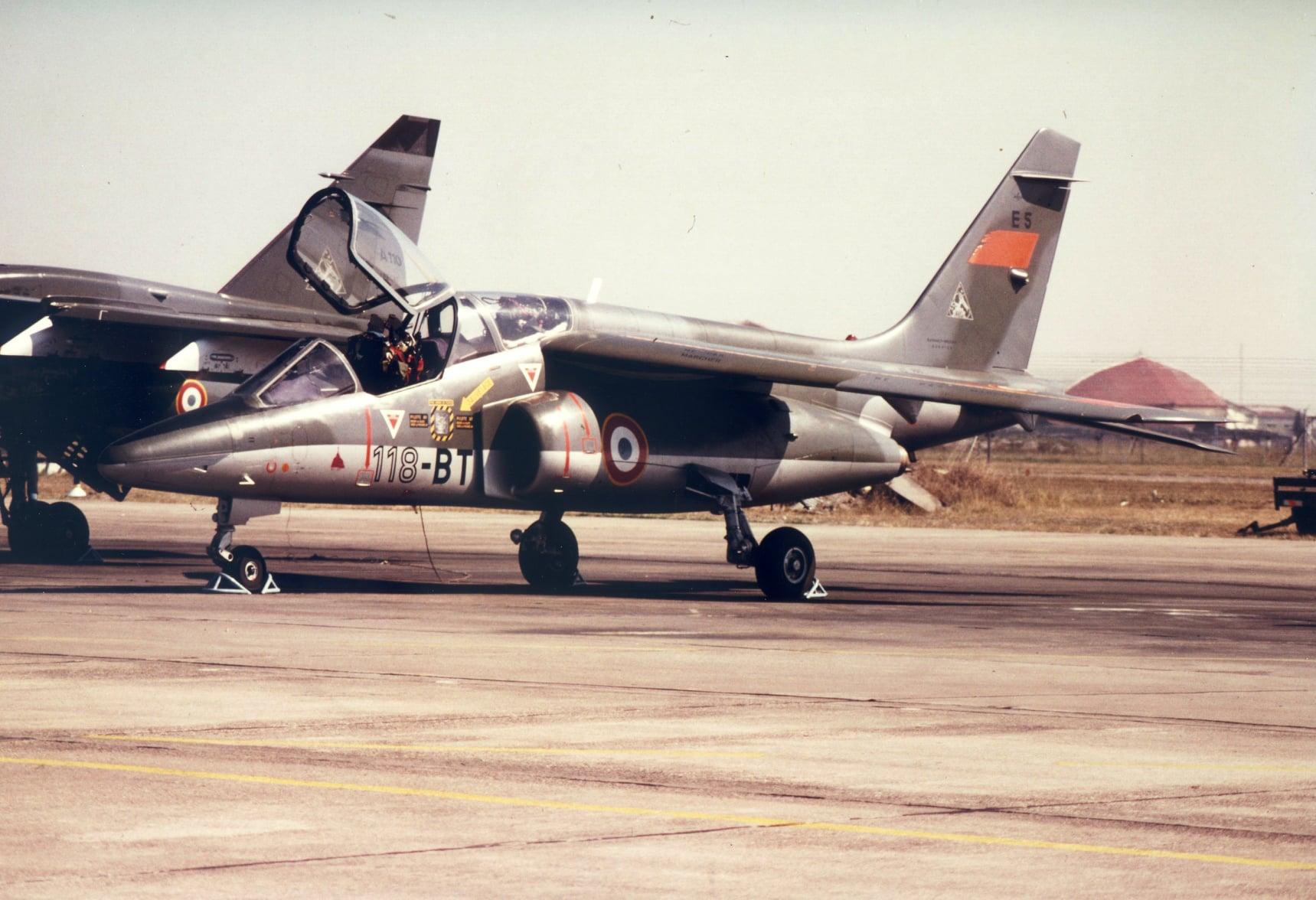Bientôt un nouvel appareil aux Ailes Anciennes Toulouse : l'Alpha Jet E5