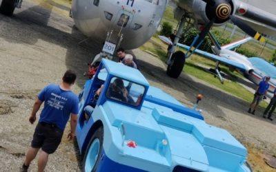 Réorganisation des avions de la collection et installation de la verrière avant du Mirage 2000N