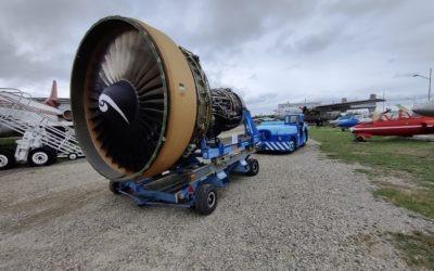 Récupération d'un moteur General Electric CF6-80E1